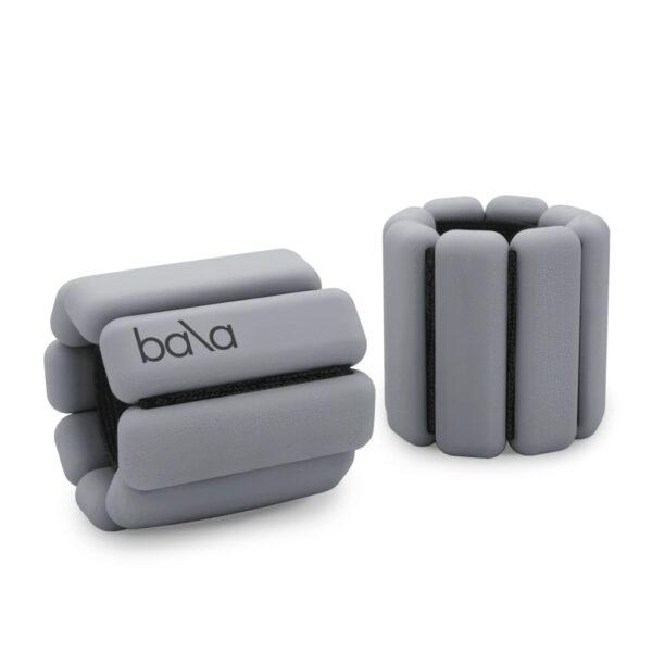 Bala bangles i fargen grå / heather lukket liggende og stående