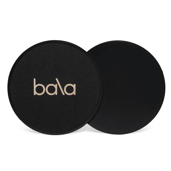 Bala sliders sort / svart / charcoal forside med logo og bakside