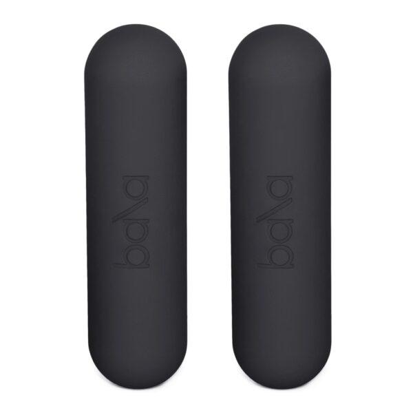 To Bala bars vekter i fargen svart / sort / charcoal