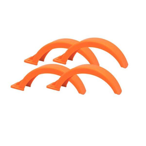Orange skjerm til skate