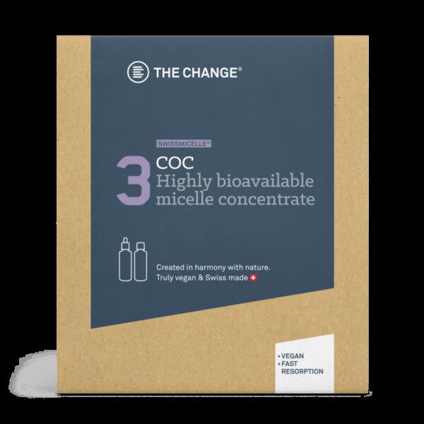 The change COC boks med flasker